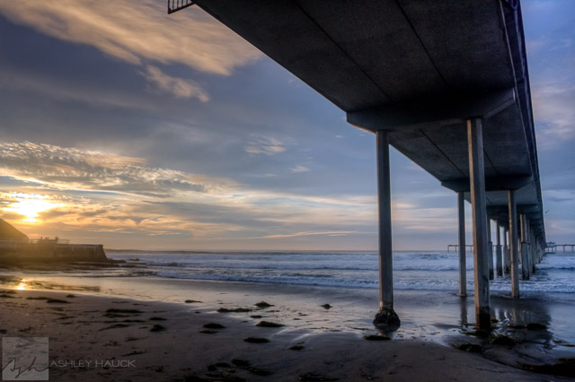 Landscapes ashley hauck photography san diego ca for San diego pier fishing
