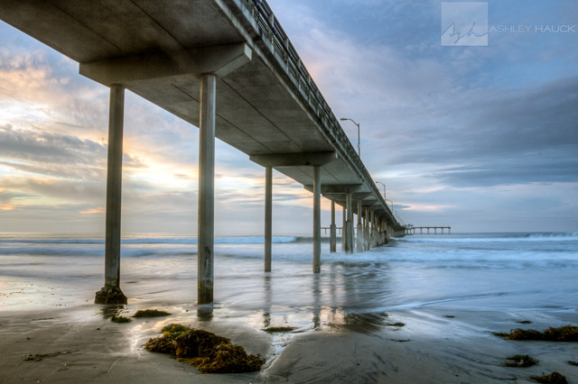 Landscapes ashley hauck photography san diego ca for Pier fishing san diego