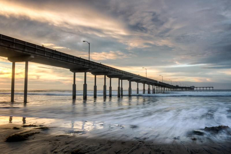 Landscape and seascape fine art prints ashley hauck for Pier fishing san diego